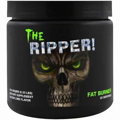 COBRA LABS THE RIPPER - 30 Serves CHOOSE FLAVOUR - Curse Fat Burner PRE WORKOUT