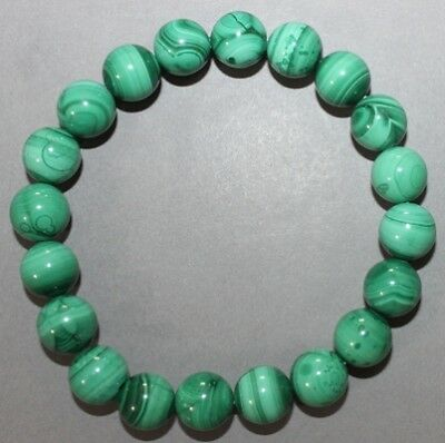 "Bracelet Malachite 10 mm ""Large"""