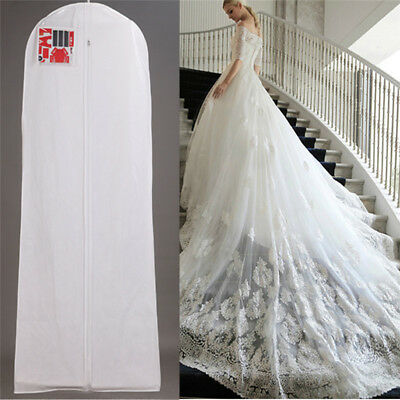 Wedding Dress Dust Proof CoverBreathable Large Garment Storage Bag Bridal Gown