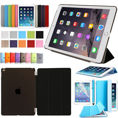 "Apple iPad (2018) 9.7"" Neu Tablet Schutz Hülle+Folie Tasche Smart Cover Case"