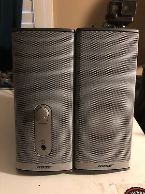 BOSE Companion 2 Series II Computer Speakers w OEM Genuine Power Supply - Tested