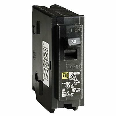 Square D by Schneider Electric HOM130CP Homeline 30 Amp Single-Pole Circuit