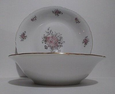 "Fine Bohemian china set Platter and serving bowl ""Maria"" Made in Czechoslovakia"