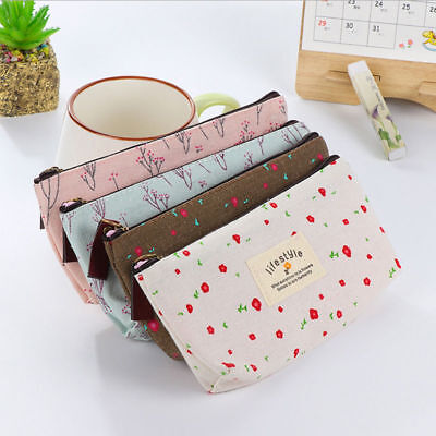 Great Flora  Flower  Zippered Case For Your Crochet Hooks.4 Colours Available