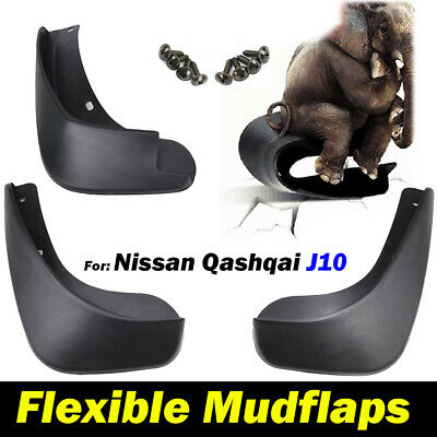 MUD FLAPS SPLASH GUARDS For NISSAN QASHQAI J10 07 2008 2009 2010 2011 2012 2013