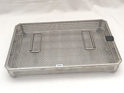 Aesculap siebtray Strainer Basket jf252r + siebkorbdeckel JF257R Wash Tray NEW