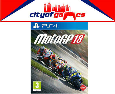 MotoGP 18 PS4 Game New & Sealed