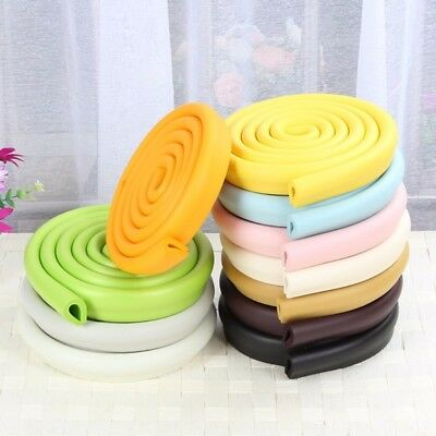 2M Stripe Baby Kids Table Desk Edge Corner Protector Cushion Foam Bumper Guard