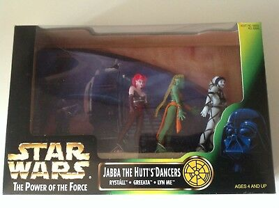 Star Wars Jabba The Hut Cancers Diorama / The Power of the Force / Top RAR