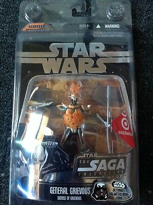 Star Wars General Grievous / The Saga Collection Exclusive Figur / Burning Head