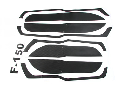 For Ford F150 F-150 2015 - 2018 Door Anti Kick Carbon Fiber Stickers Cover Trim