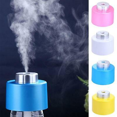 Top USB Mini Water Bottle Caps Humidifier Air Diffuser Aroma Mist Maker JMUS