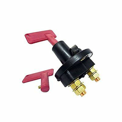 12 Volt 300 Amp Battery Disconnect Cut Off Kill Switch With 2 Keys
