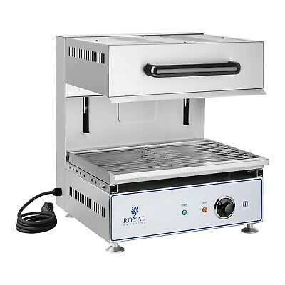 Electric Salamander Grill Height Adjustable Salamander Toaster Broiler 2800W