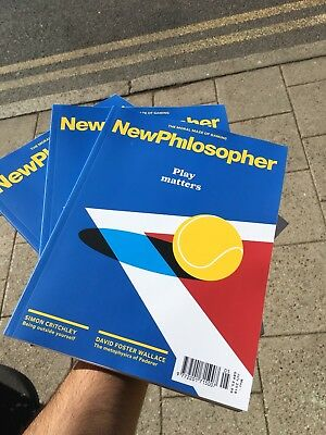 New Philosopher Magazine Issue 20 March 2018 Play Matters Metaphysics Outside
