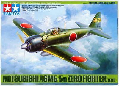 Tamiya 1/48 Mitsubishi A6M5/5a Zero Fighter (Zeke) Kit 61103