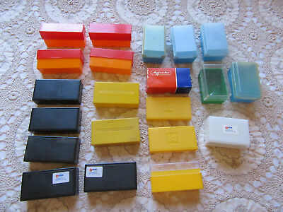 Lot Of Empty Kodak & Other Brand  Projector Slide Storage Boxes