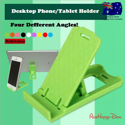 Desk Stand Folding Desktop Holder For Mobile Phone Tablet iPad iPhone 6 7 Plus