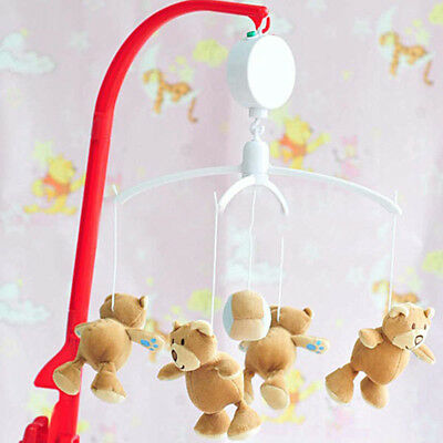 Rotary Baby Mobile Crib Bed Toy  Movement Music Box Kids Bedding Toy x 1