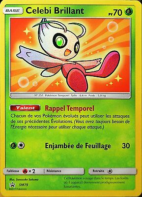 Pokemon - Celebi Brillant sm79 - Legendes Brillantes 3.5 - Promo - Français