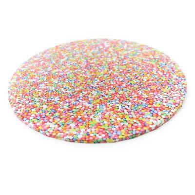 """Cake Boards 10"""" Various Colours - Grass, Sprinkles, Wood, Black, Silver"""