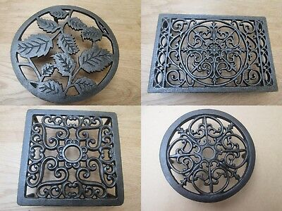 Trivet Hot Plate Pot Pan Stand Holder Country Kitchen Worktop Protector