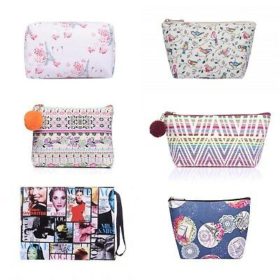 Make-Up Bag Pouch Cosmetic Toiletry Case Travel Bag Handbag Makeup Gifts