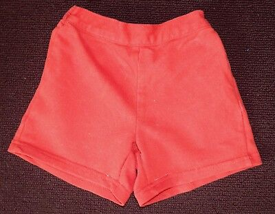 Baby Girls Red Shorts - 18 months