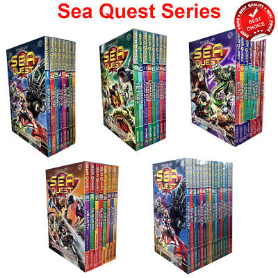 Sea Quest Series 1 2 3 4 5 upto 8 Collection Adam Blade Books Set Pack NEW