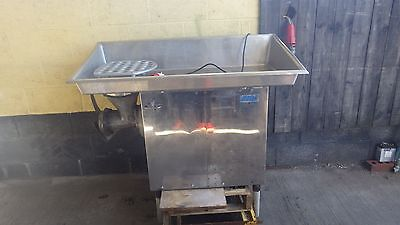Biro Mincer 342 size 32,3 phase ready to go to work,MASSIVE HOPPER Includes VAT