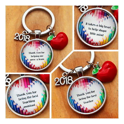 GIFT FOR  TEACHER - Teacher Teaching assistant nursery teacher Keyring -2019///