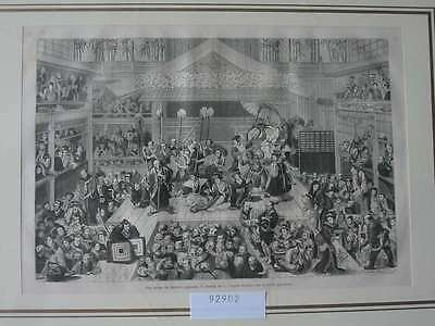 92902-Asien-Asia-Japan-Nippon-Nihon-Theater-Theatre-T Holzstich-Wood engraving