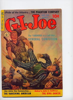 GI Joe #20, 1953, Ziff-Davis, painted cover, Yardbirds