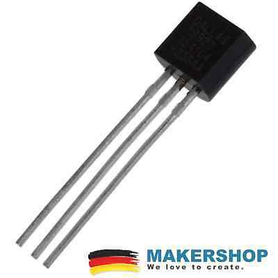DS18B20 Digitaler Temperaturfühler Temperatursensor 1-wire Raspberry Arduino