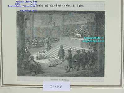 36624-Asien-Asia-China-CHINESE GERICHT-COURT-TH-1860