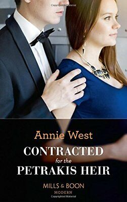Annie West - Contracted For The Petrakis Heir