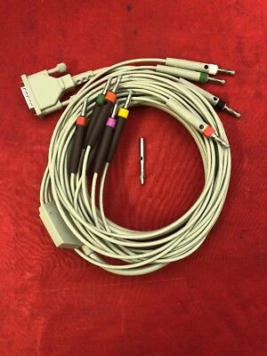 NEW WELCH ALLYN Patient Cable 10 Lead EKG ECG Cable 80130-0000