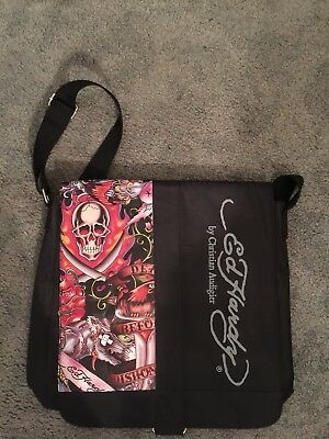 ED HARDY MESSENGER Tote Bag by Christian Audigier New -  9.99  add37511a1851