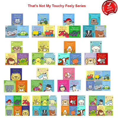 Thats not my books bundle collection set bunny chick dinosaur unicorn duck lamb