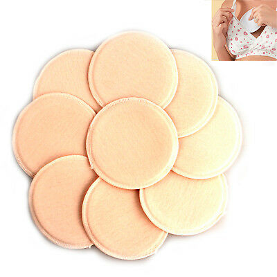 6Pcs Breast Nursing Pads Washable Reusable Feeding Absorbent Breastfeeding Fsp