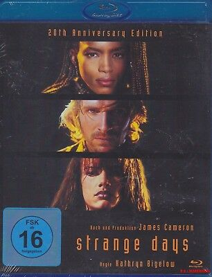 Strange Days - 20th Anniversary Edition [Blu-ray] Ralph Fiennes * NEU & OVP *