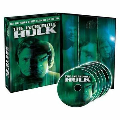 Incredible Hulk: TV Series Ultimate Collection [DVD] [1978] [US Import] [dvd]