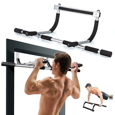 Door Gym Pull Up Bar Exercise Fitness Home Chin Ups Sit Ups Bar Strength Workout  sc 1 st  PicClick UK & Door Gym Pull Up Bar Exercise Fitness Home Chin Ups Sit Ups Bar Strength Workout