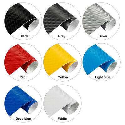 4D Carbon Fibre Vinyl Wrap Film Sticker  Carbon Fibre Car Wrap