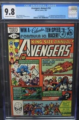 Marvel Avengers Annual 10 First App Appearance Rogue Cgc 9.8
