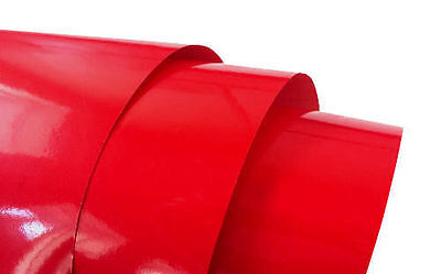 Best Quality RED Gloss Vinyl Wrap Sheet Car Wrap Vinyl Wrapping: Air Bubble Free
