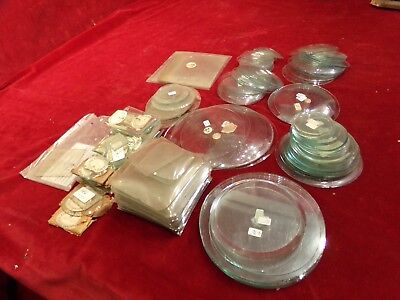 Job Lot of clock glass