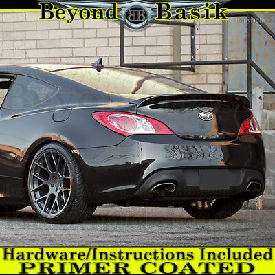 Spoiler for a Hyundai Genesis Coupe 2 dr Accent Spoilers Factory Style Spoiler-Primer