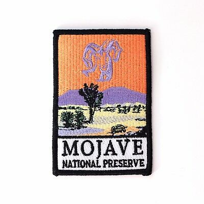 Official Mojave National Preserve Souvenir Patch California Park Desert