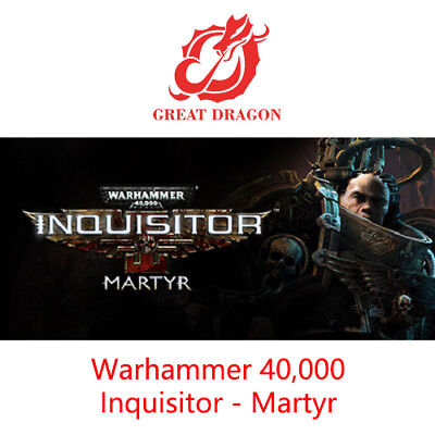 [Contact Before Purchase] Warhammer 40,000 Inquisitor - Martyr [PC Global]